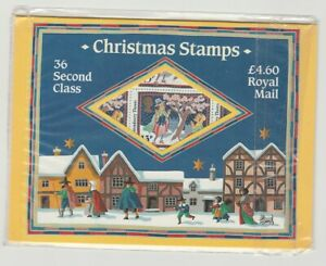 GB MINT 1986 Royal Mail Christmas Stamp folder booklet sheets sg1342u 36 X 13p