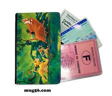 le roi lion 01-006  étui pochette carte grise carte d'identité permis