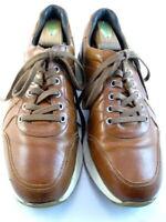 "Allen Edmonds ""A-TRAINER"" Lace Up Sneakers 10 D Walnut (479)"