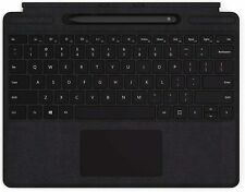 Microsoft - Surface Pro X Signature Keyboard with Slim Pen - Black