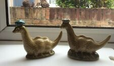 Pair of Beneagles Loch Ness Monster Whiskey Miniatures One Beswick