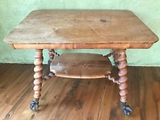 Table Mahogany wood nature finish antique