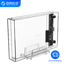 ORICO SATA to USB3.0 HDD Enclosure High Speed 5Gpbs Transparent 3.5 inch HDD