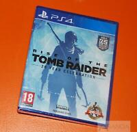 Rise of the Tomb Raider 20 Year Celebration PS4 Brand New