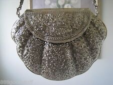 Brand New 92.5% Silver Evening bag Hand Made Unique Luxury Elegant Style Bag