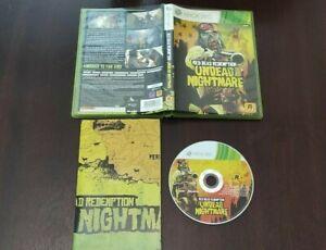 Red Dead Redemption Undead Nightmare ( Microsoft Xbox 360 ) European version Pal