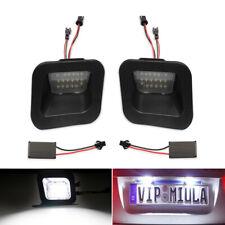 Black LED License Plate Light Rear Lamp For 2003-2018 Dodge Ram 1500 2500 3500