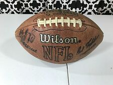 NFL 2000 Cincinnati Bengals Starting Lineup Autographed Official Wilson Football