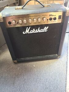 Vintage Marshall MG15 CDR 45W  Reverb Guitar Amp made in Korea