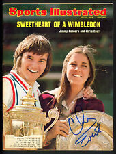 Chris Evert Autographed Signed Sports Illustrated Magazine Beckett BAS #S76756