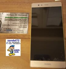 HUAWEI P9 PLUS COMPLETO DI DISPLAY LCD + TOUCH SCREEN + FRAME ASSEMBLATO ORO