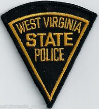 WEST VIRGINIA STATE POLICE - POCKET/HAT SIZE - IRON or SEW-ON PATCH