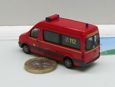 "Herpa  047500:  VW Crafter Bus MTV ""Landesfeuerwehrschule Hamburg"""