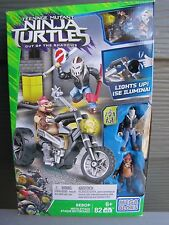NEW Mega BloksTeenage Mutant Ninja Turtles Out of the Shadows Bebop Moto Attack