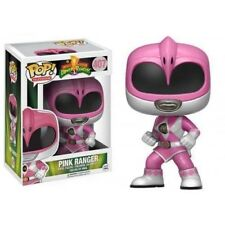 Power Rangers - Pop Funko Vinyl Figure 407 Metallic Pink Ranger Limited Ed.