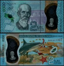 COSTA RICA 2000 COLONES (P NEW) 2018 (2020) POLYMER UNC