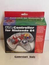 CONTROLLER NINTENDO 64 TRASPARENTE GAMESTER - NINTENDO 64 N64 - NUOVO NEW