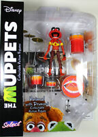 The Muppets ~ ANIMAL w/DRUMSET ACTION FIGURE SET ~ Diamond Select DST