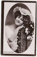 MARIE STUDHOLME - Actress - Davidson Bros - 1909 used real photo postcard