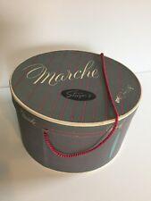 Vintage Marche Hat Box - Steiger's Department Store