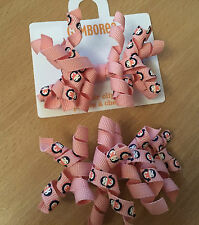New Gymboree Girls Hair Clips 2 Pack - Curly Clips