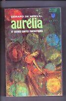 de NERVAL. Aurélia et autres contes. Marabout 1966. ETAT NEUF. Fantastique