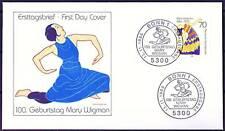 BRD 1986: Mary Wigman! FDC del N. 1301 con pulite Bonner timbri speciali! 1803