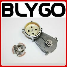 17T Clutch Drum Housing Gear Box + Clutch 47 49cc Mini Pocket Quad Dirt Bike ATV