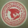 KNICKERBOCKER BEER Packs a Fistful Coaster NY, NEW YORK