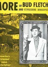 BUD FLETCHER & CYPRIENNE ROBESPIERRE more of USA EX LP