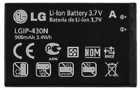 NEW OEM LG LGIP-430N Imprint MN240 GU295 LX290 LX290C LX370 SBPL0098201 BATTERY