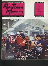 (12B)REVUE TECHNIQUE MOTO MOTOBÉCANE 350 CC / 125CC PALOMA / RED HUNTER ARIEL