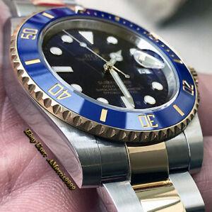 Polishing Service for Rolex Submariner 116613 Ceramic Blue or Black Dial Bezel