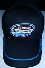NASCAR Black Nationwide Series Embroidered baseball hat cap adjustable EUC