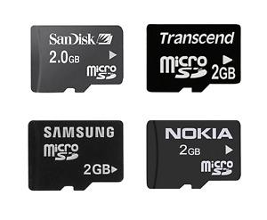 Genuine SanDisk Kingston Samsung Sony Transcend 2GB Micro SD TF Memory Card
