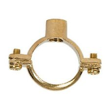 28mm Brass Munsen Ring Copper Pipe Clip BAG OF 25