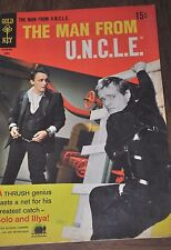 The Man from U.N.C.L.E. Uncle Gold Key Comic Book #22 April 19 1969