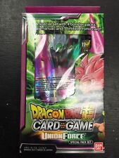 Dragon Ball Z Super Union Force TCG Special Pack English Card Game - 4 boosters
