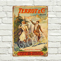 Townsends Cycles cycling metal Wall Sign Retro Vintage Advertisement