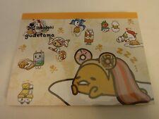 Sanrio Gudetama Tokidoki Notebook Notepad