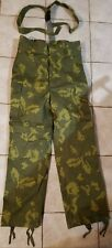 Soviet PV-2 KGB Border Guard Camouflage Winter Pants
