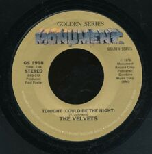 45bs -R&B vocal group-MONUMENT GS 1918-The Velvets