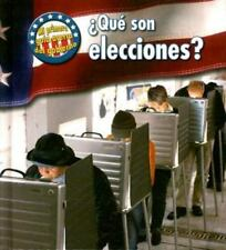 Que son Elecciones? = What Are Elections? (Mi Primera Guia Acerca del-ExLibrary