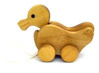 Ziehtier, Ente aus Holz