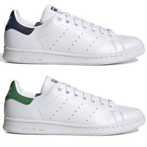 Adidas stan smith uomo Blu verde Bianco scarpe sneakers casual 40 41 42 43 44
