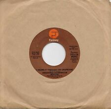 CREEDENCE CLEARWATER  I Heard It Through The Grapevine  rare promo 45