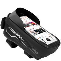 Wheel Up MTB Bike Bag Touchscreen Cycling Waterproof Top Tube Phone Case