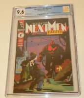 John Byrne's Next Men #21 CGC 9.6 White Pages -1st Color Appearance Hellboy