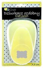 Motivstanzer Motivlocher Etikett Label Craft punch 7,5cm dpCraft JCDZ-130-331
