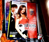 SHE'S THE MAN 1 SHEET  MOVIE POSTER  DVD  EDITION